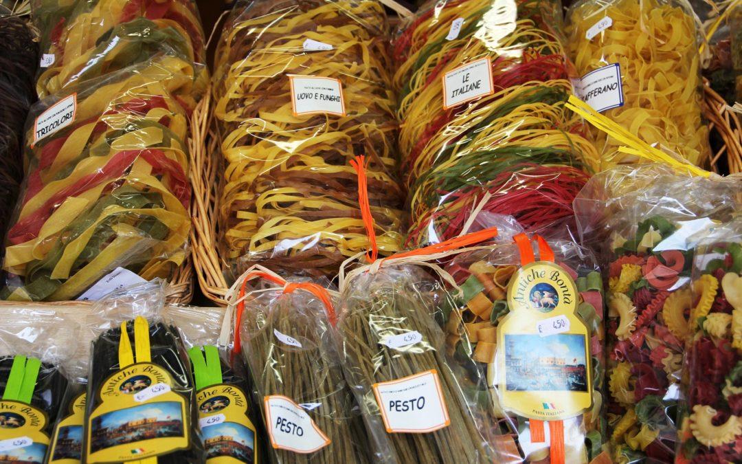 Sklep włoski Poznań – produkty i makarony prosto w WŁOCH